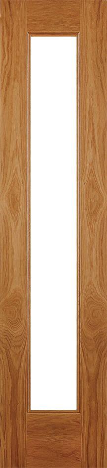 Oak Contemporary Clear Glazed Sidelightdoordeals.co.uk  £ 237