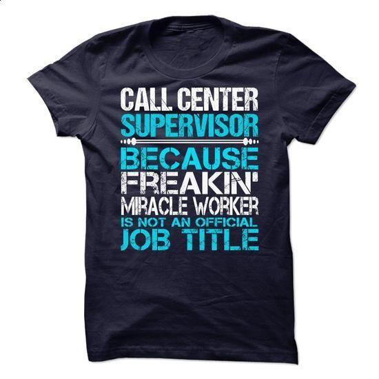 Call Center Supervisor - #polo shirt #custom hoodies. BUY NOW => https://www.sunfrog.com/No-Category/Call-Center-Supervisor-69241389-Guys.html?60505