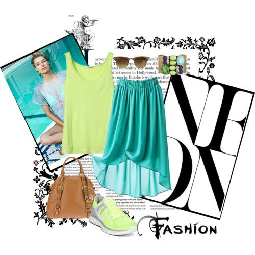 In the Mood for... Turquoise with neon | FashionWows - Part 1