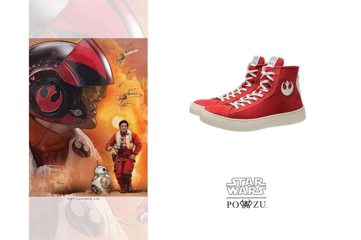 Po-Zu RESISTANCE HIGH-TOP SNEAKERS reviewed by City Girl At Heart  - #fashrev #bettershoes #starwars #ethcialfootwear #ethcialfashion