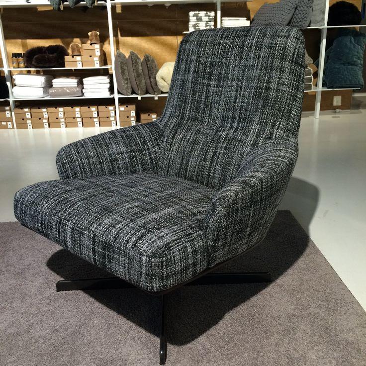 Lænestol med spændende mønster