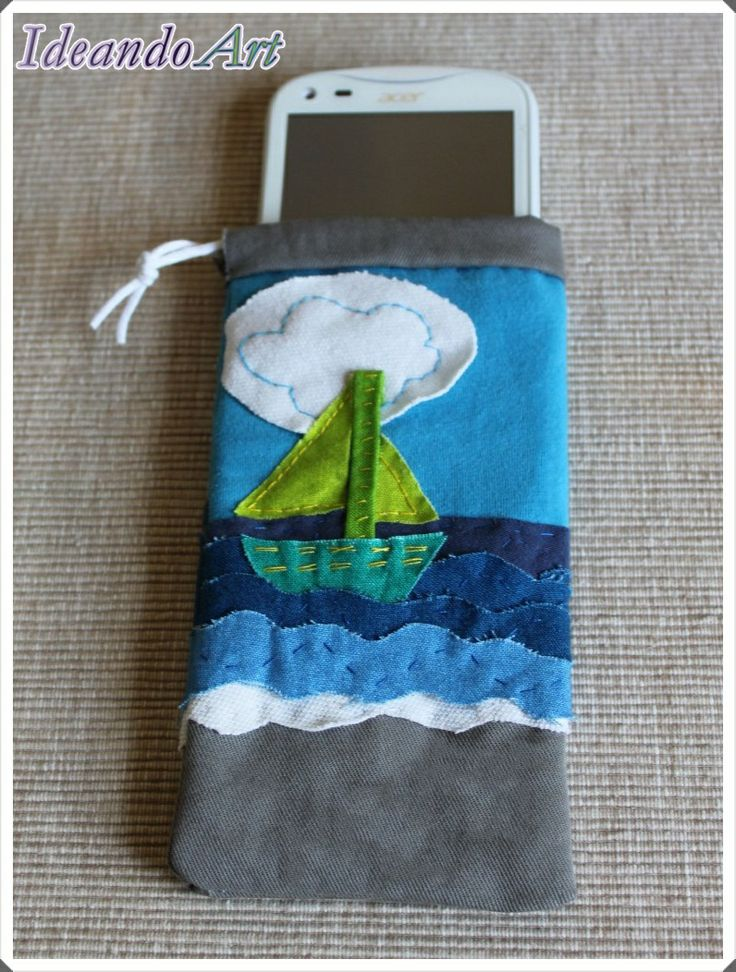 Funda personalizada para el móvil marinera by IdeandoArt