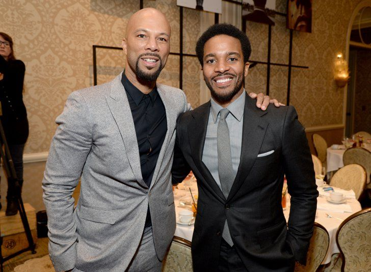 Pin for Later: 20 Photos That Prove Andre Holland Looks Hot in Any Historical Era Here he is with Common, demonstrating the power of a good groutfit.