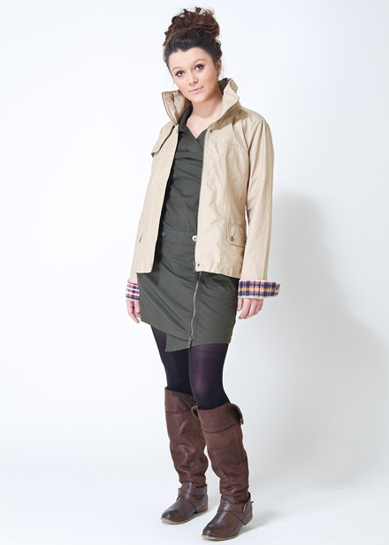 Bench Fletcher Ladies Jacket and Bench Harley Shirt Dress