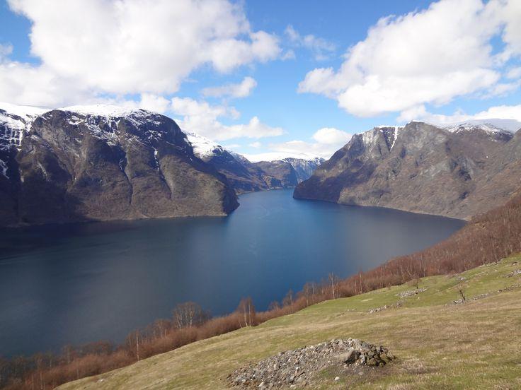 Mooi Noorwegen. Prachtige fjorden, wat een uitzicht. Beautiful Norway. Segastein, Sognefjorde.