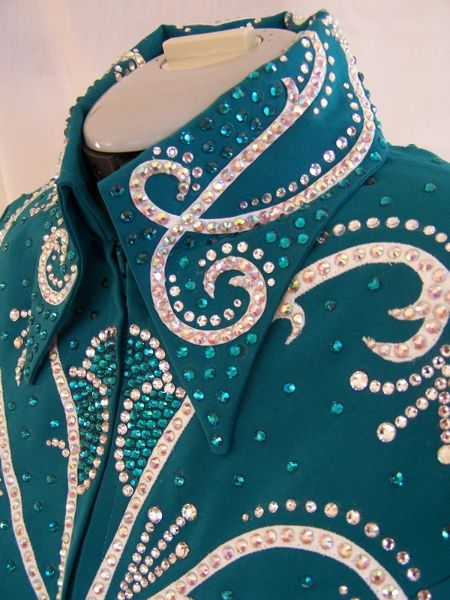 Teal Showmanship Jacket