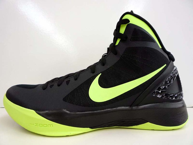 Nike's signature color for speed, volt, offers vibrant pops on this new  black-based Hyperdunk
