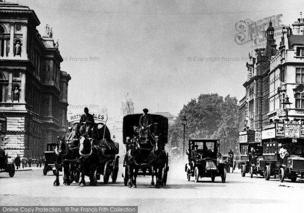 London, Parliament Street 1910