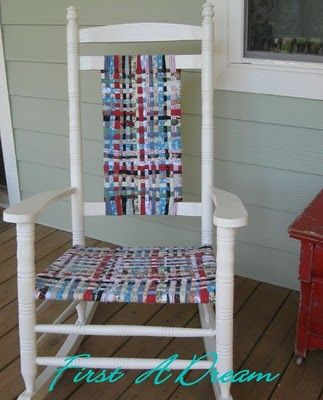 What I'm wanting to do with my rocking chair.