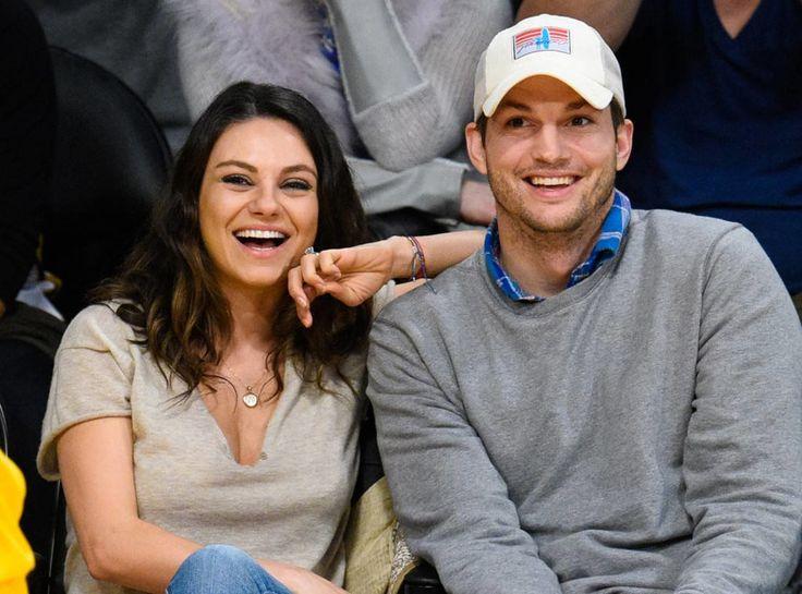 Ashton Kutcher & Mila Kunis' Son Sports 'That 70's Show' Shirt With Parents On It #AshtonKutcher, #MilaKunis celebrityinsider.org #Hollywood #celebrityinsider #celebrities #celebrity #celebritynews