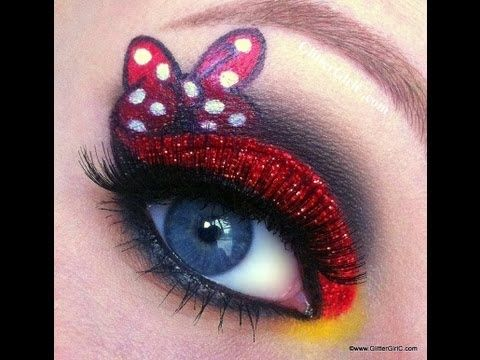 Minnie Mouse Makeup Look (+playlist)