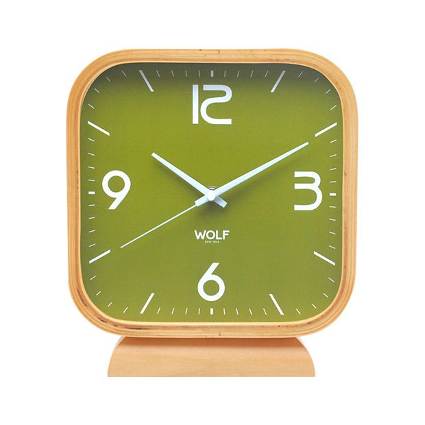 With its rounded square shape, the Leonardo Square Mantel Clock is modern in style. Its wooden frame gives the clock the feel of nature and the shape makes it perfect for a contemporary table or mantel...  Find the Leonardo Square Mantel Clock, as seen in the Decor Clearance Collection at http://dotandbo.com/collections/end-of-summer-sale-decor-clearance?utm_source=pinterest&utm_medium=organic&db_sku=102317
