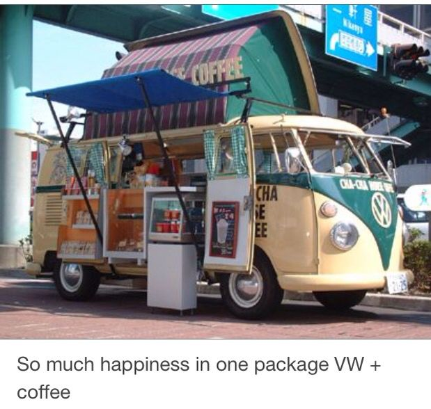 VW Bus Coffee Food TruckCoffee