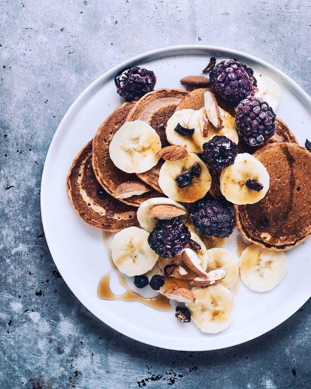 Whole Spelt Pancakes