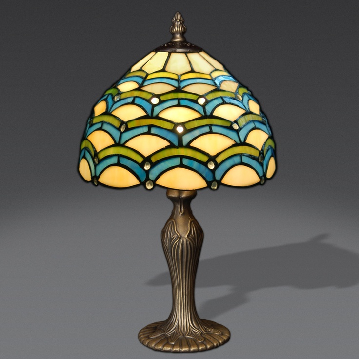 Charming GA10018 Tiffany Style Table Lamp Www.artedalmondo.it