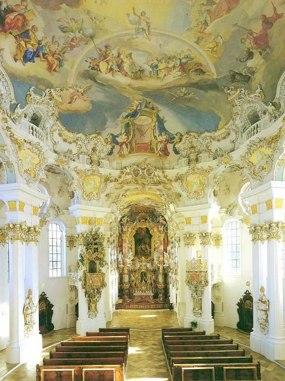 17 best images about 0 baroque on pinterest architecture for Baroque style church