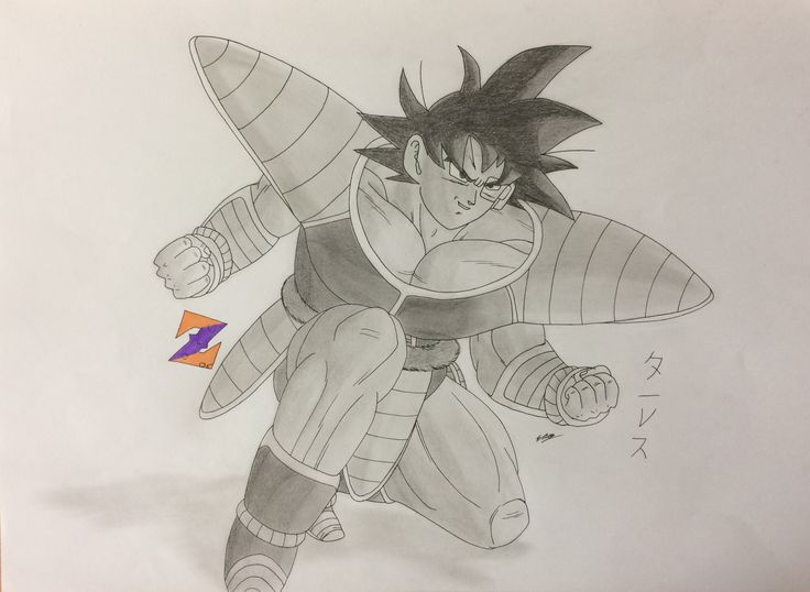Turles from Dragon Ball: The Tree of Might by ZorArt