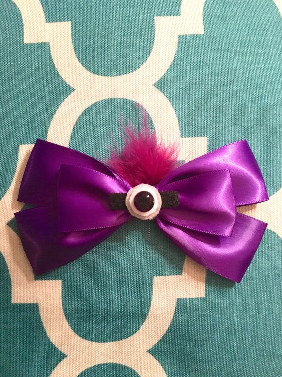 Hey, I found this really awesome Etsy listing at https://www.etsy.com/uk/listing/478016533/purple-minion-bow