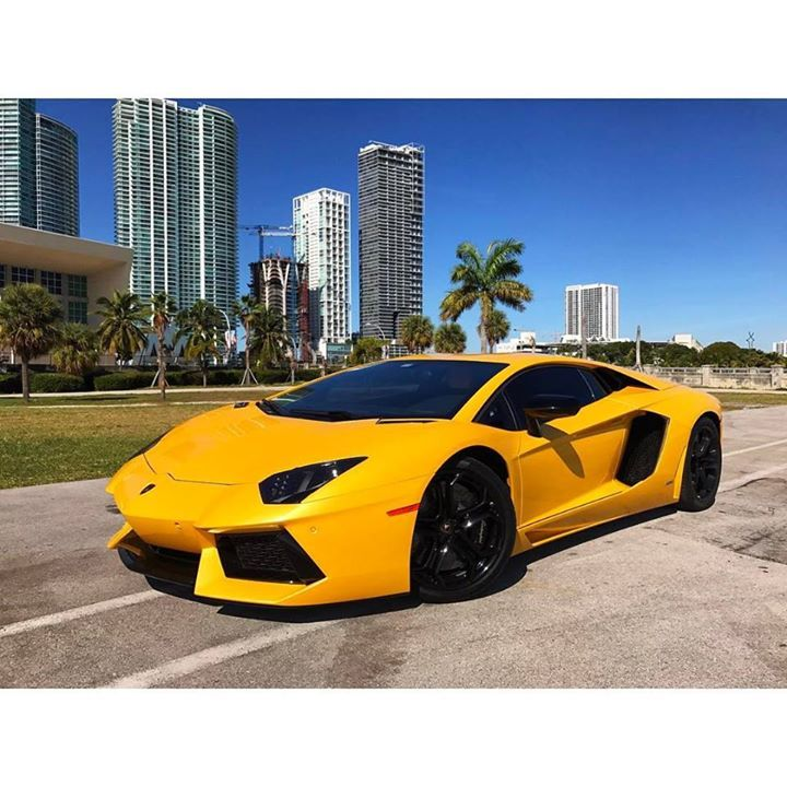 Lamborghini Aventador available for rent at @paramount_luxury_rentals Visit http://ift.tt/1MLkKFp or call 1-305-924-3737 to book your Dream Ride with us!