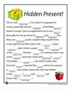 Christmas Mad Libs for Kids                                                                                                                                                                                 More