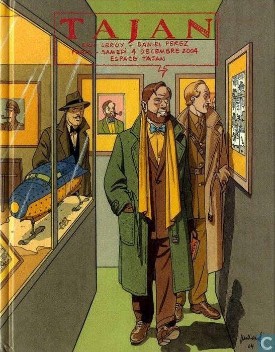 Bandes dessinées - Blake et Mortimer - Tajan