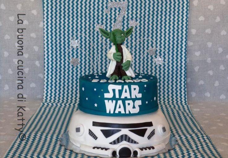 La buona cucina di Katty: Torta Star Wars - Star Wars cake
