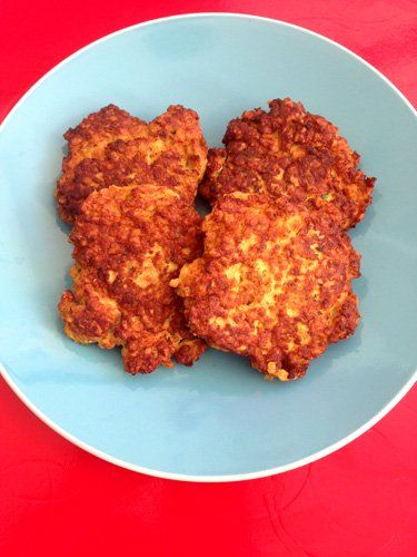 These chicken patties are a hit with everyone in our family, even with the fussier five year old - albeit with a dash of tomato sauce! At 20 months AJ gobbles them up and both Dad 101 and I both go back for seconds ;) They are quick and easy to make, and wheat and dairy free - the secret being oats in the place of the more traditional breadcrumbs in similar recipes, and the combination of herbs and spices is delicious. Oaty Chicken Patties Recipe You will need:  500gms chicken breast 1…