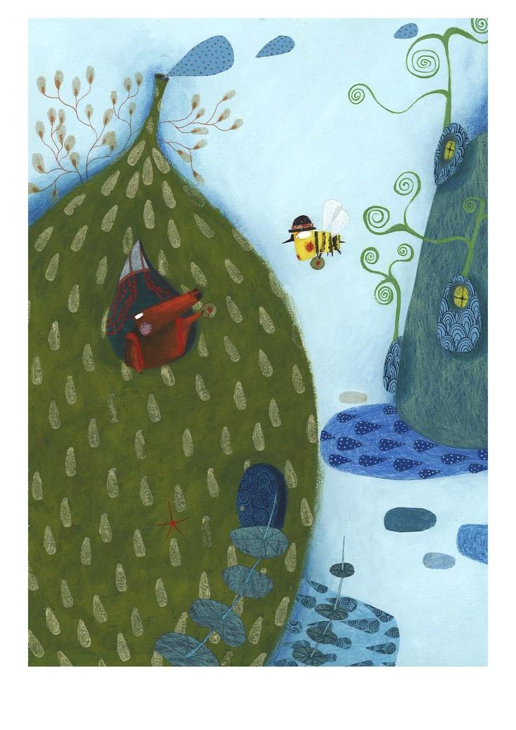 single mouse  OQO Publishers-Marta Torrão illustrator