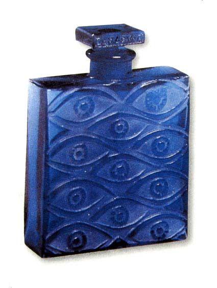 Blue-eyed bottle