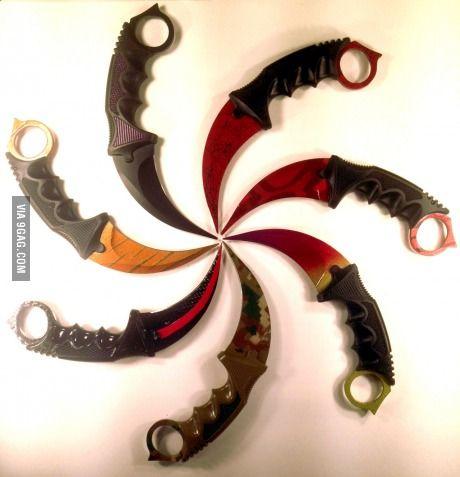 Weapons from Filipino martial arts - karambits