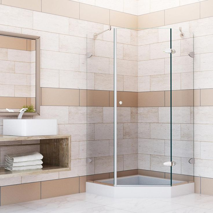 neo angle shower enclosure 38 frameless 38x38 doors enclosures