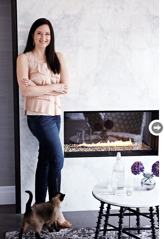 Editor-in-Chief of Style At Home magazine, Erin McLaughlin's Kitchen Makeover, designed by Croma Design Inc.