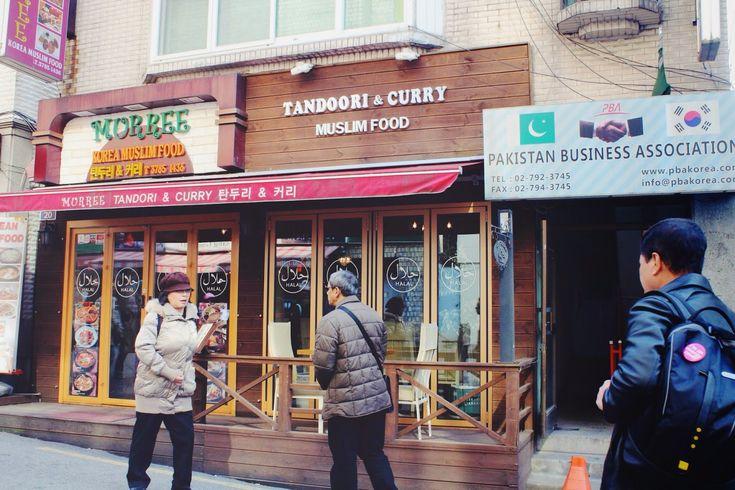 halal korean food in itaewon, Seoul.