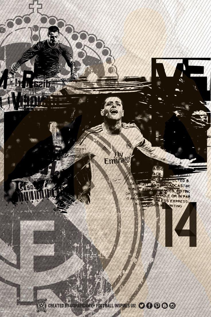 #CH14 Chicharito • Real Madrid #FootballInspiresUs #LigraficaMX