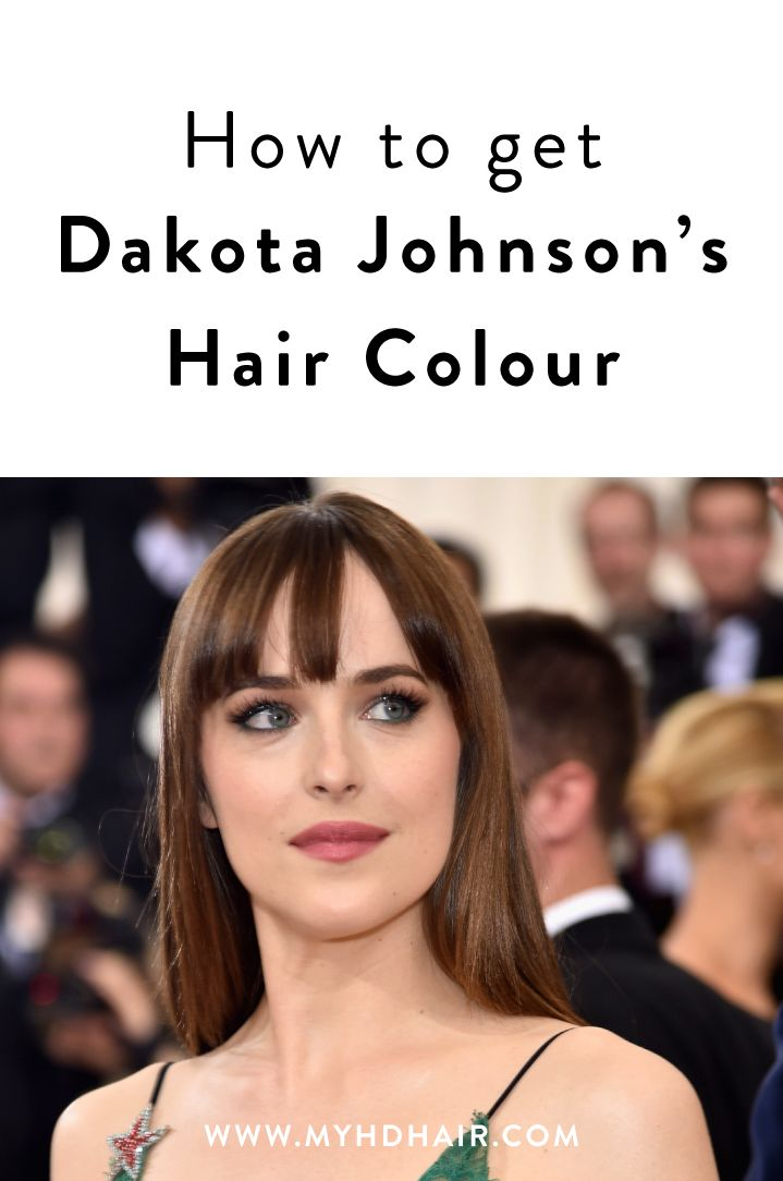 We're such fans of Dakota Johnson's unpretentious, simple rich Brunette we had to Colour match it, immediately.