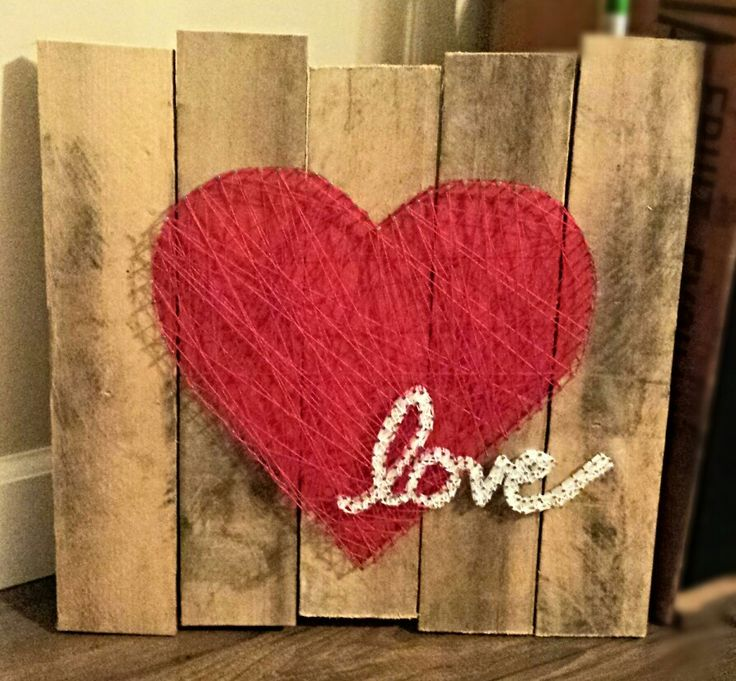 smartness ideas heart shaped wall decor. Love  Heart String Art ashelynn duvick 170 best Craft Items images on Pinterest Paper flowers DIY and