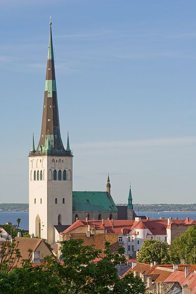St Olaf's Church in Talinn, Estonia. It was the tallest building in the world from 1549 to 1625.