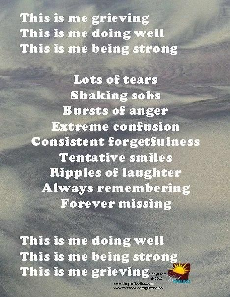 This is grieving   The Grief Toolbox