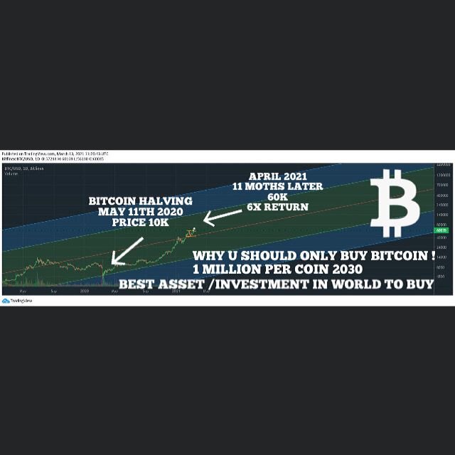 I been telling everyone to buy bitcoin since 2016-2017 when it was 250.00 dollars, I still tell them now it's not too late and still early as bitcoin will be ( 1 million dollars per btc! #crypto #10XBITTRADER #blockchain #bitcoinhalving #Bitcoin100k