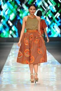 Top skirt patchwork Wignyo JFW12