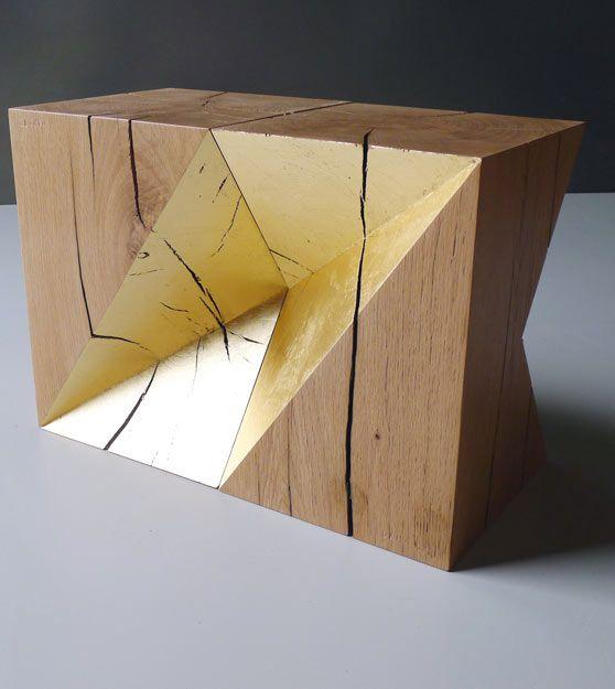 Timbers, Slabs, Facets:  Cubes pliés by Daha.