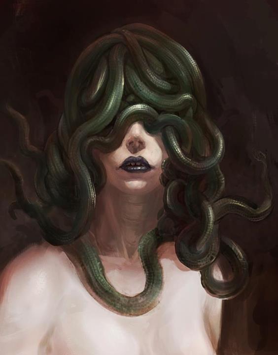 medusa.   Lowbrow Art   Pinterest