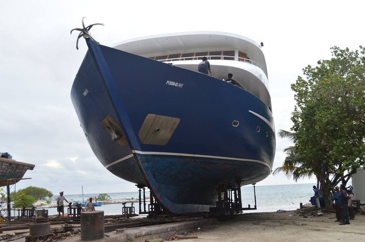 MY Duke of York Dry Dock....!!! Let's get awesome for the next season!!!