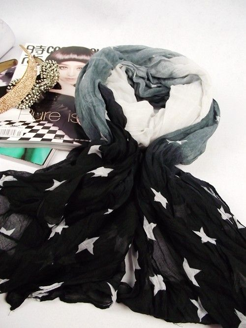 awesome Voile scarf