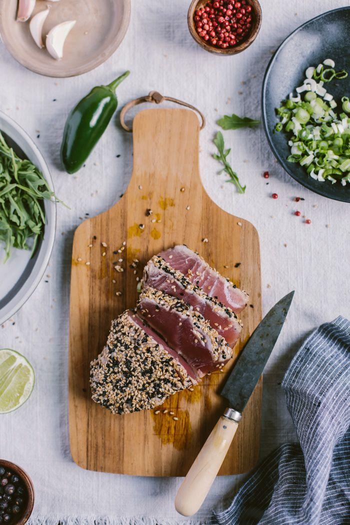 ... Seared Tuna on Pinterest | Tuna, Pan Seared Tuna Steak and Seared Ahi
