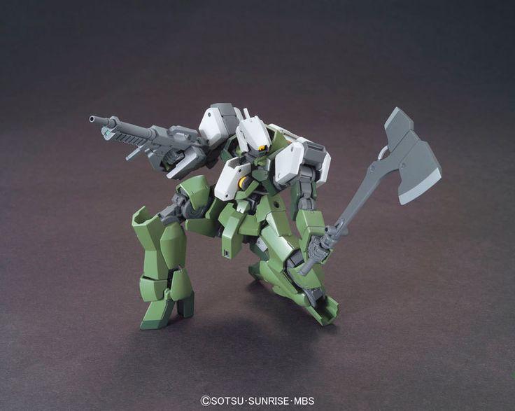 1/144 HG Graze Kai | Iron-Blooded Orphan Gundam | Gunpla | Military Sci-Fi Animé| Mecha Scale Model