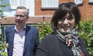 Michael Gove and Sarah Vine. -Gove's wife raised concerns about Boris Johnson's leadership in leaked email Sky News has got a cracking story. It has got hold of an email that Sarah Vine, Michael Gove's wife, sent to Gove, and copied to his aides, saying that he had to insist on getting assurances from Boris Johnson before committing to backing him.