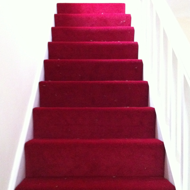 Best New Bright Red Stairs Carpet Carpet Stairs Stairs 400 x 300