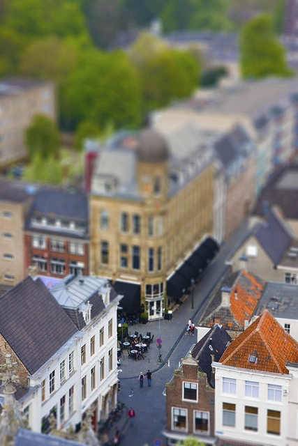 Yes this could indeed very well be shot in Madurodam, but no, this is an actual city called Breda in Tilt-shift. #greetingsfromnl