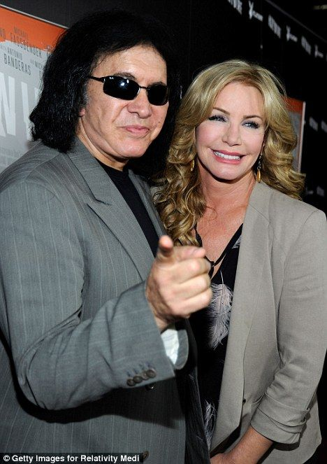 Gene Simmons and Shannon Tweed  May 5, 2010. Love them.